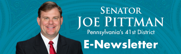 Senator Joe Pittman E-Newsletter